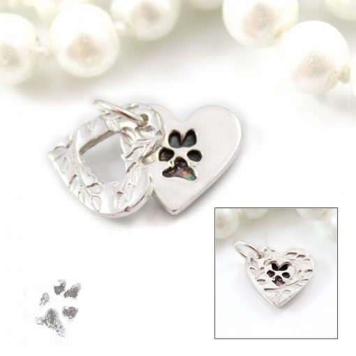 Silver paw print gifts