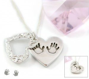 'Windows' Large Heart Pendant by Impressions to Keep