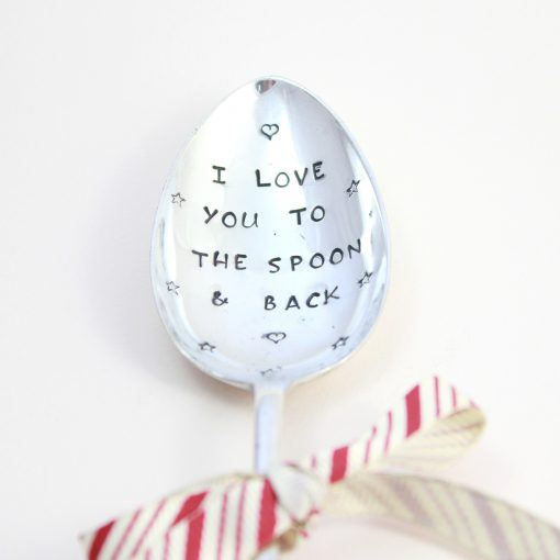 Personalised I love you spoon
