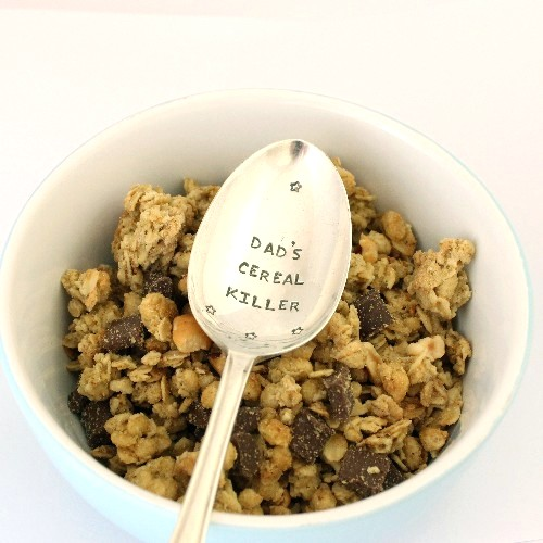 personalised pudding spoon