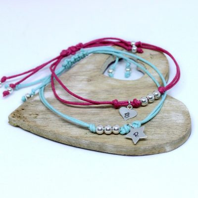 Vegan Personalised Friendship bracelets