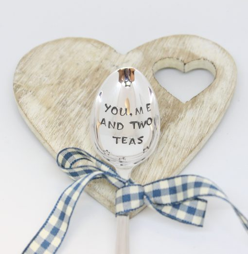 personalised tea spoon